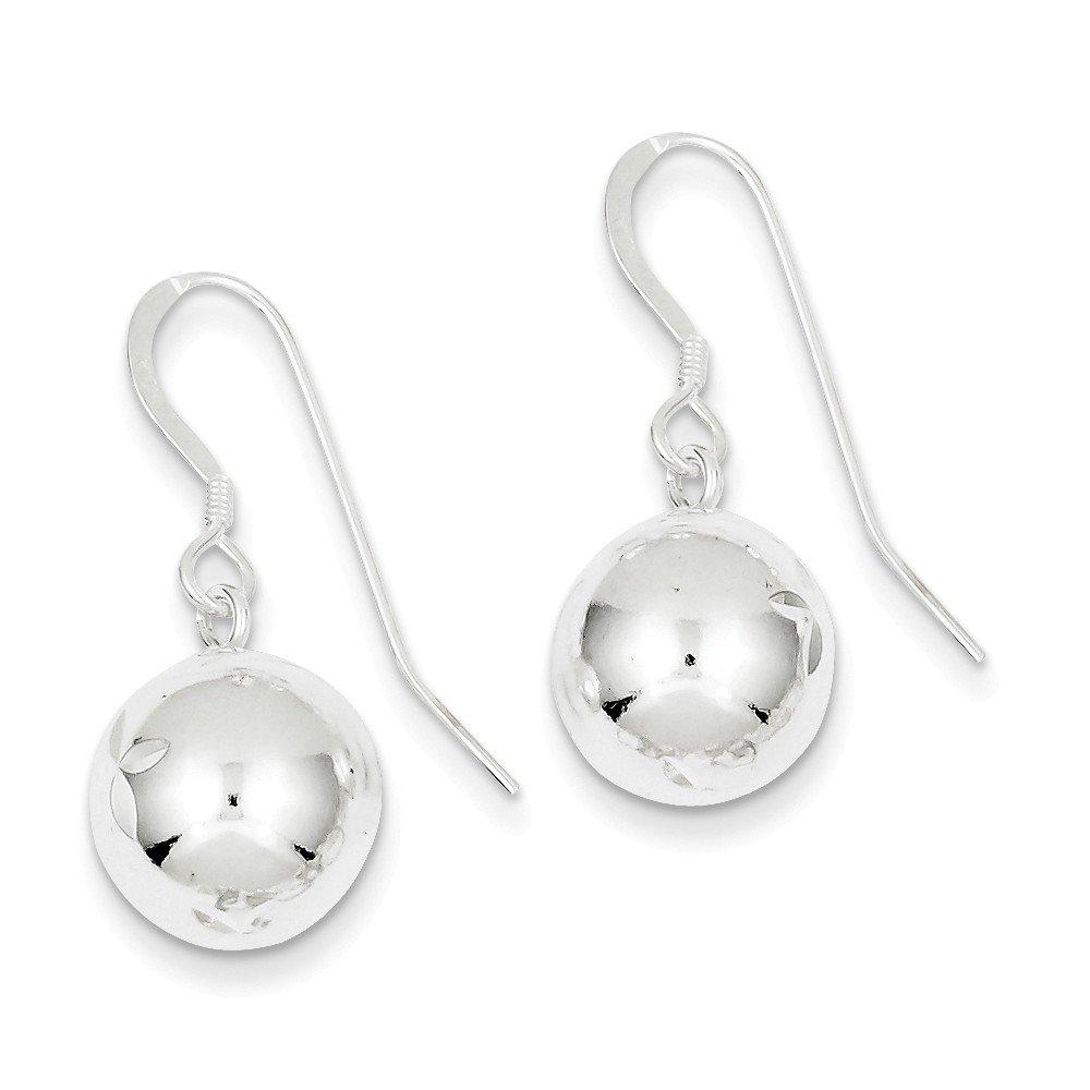 Goldia Sterling Silver Ball Earrings