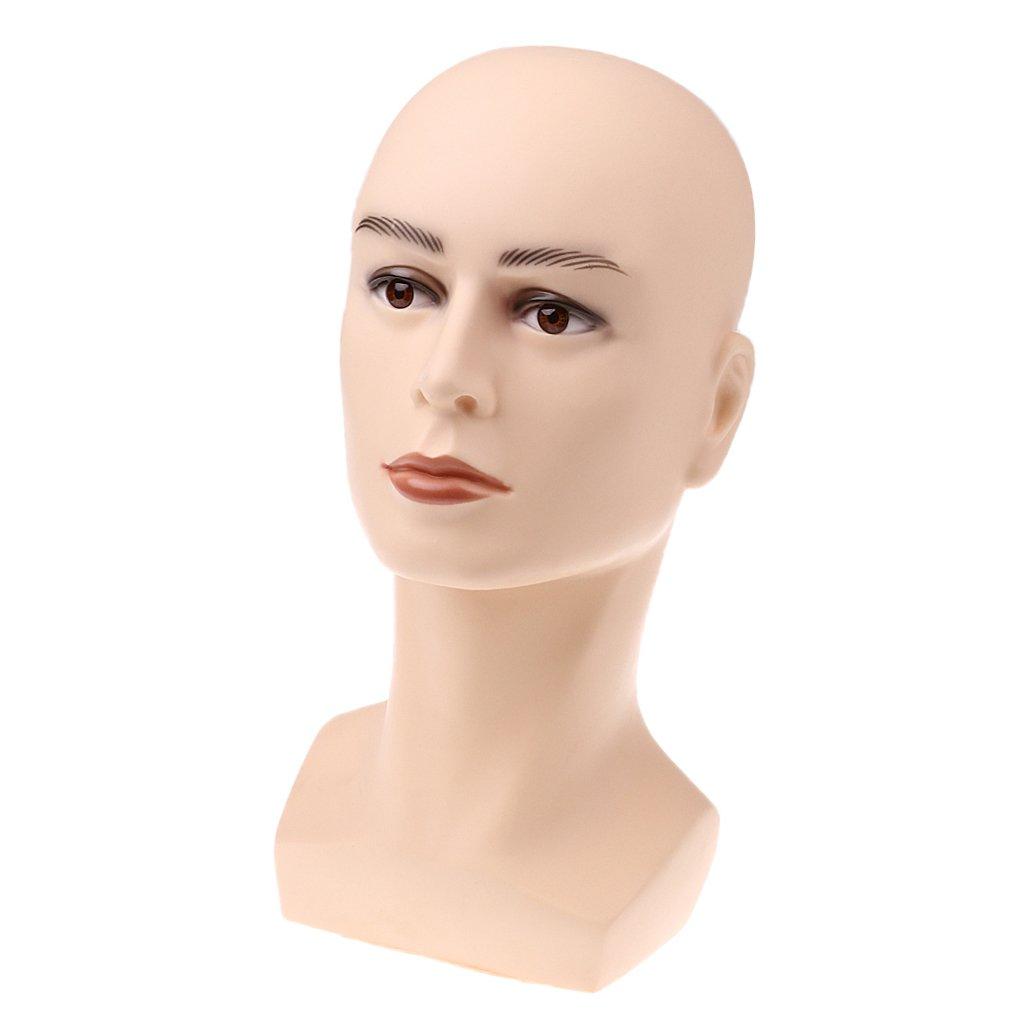 non-brand Sharplace Manichino Modello Testa Stand Parrucca Mostrare Gioielli Espositore Collana Orecchini - #1