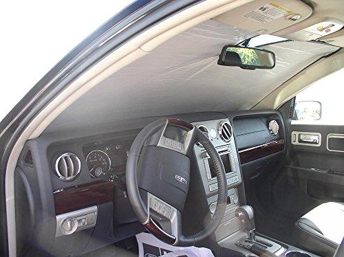 (The Original Windshield Sun Shade, Custom-Fit for Lincoln MKZ Sedan 2007, 2008, 2009, 2010, 2011, 2012, Silver Series)