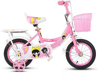 Defect Bicicletas Infantiles Bebé niña Bicicleta con Respaldo 2-10 ...