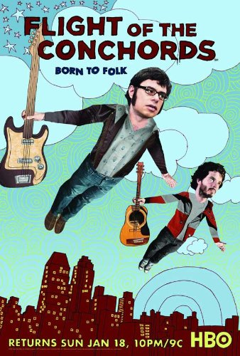 The Flight of the Conchords Style B Poster (Flight Of The Conchords Poster)