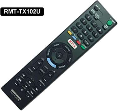 BASSK RPZ reemplazado Sony RMT-TX102U Control Remoto Smart TV: Amazon.es: Electrónica