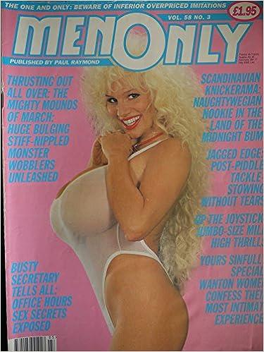 Men Only Magazine Vol  Carla Fernandez Chloe Vevrier Paperback 1993