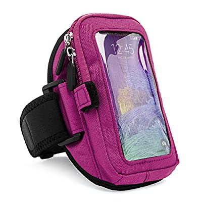 VanGoddy FULL 360 Protect Armband Pouch w/ Key & ID Card Pocket for Apple iPhone 6 Plus , 6 4.7' / iPhone 5s , 5c , 5