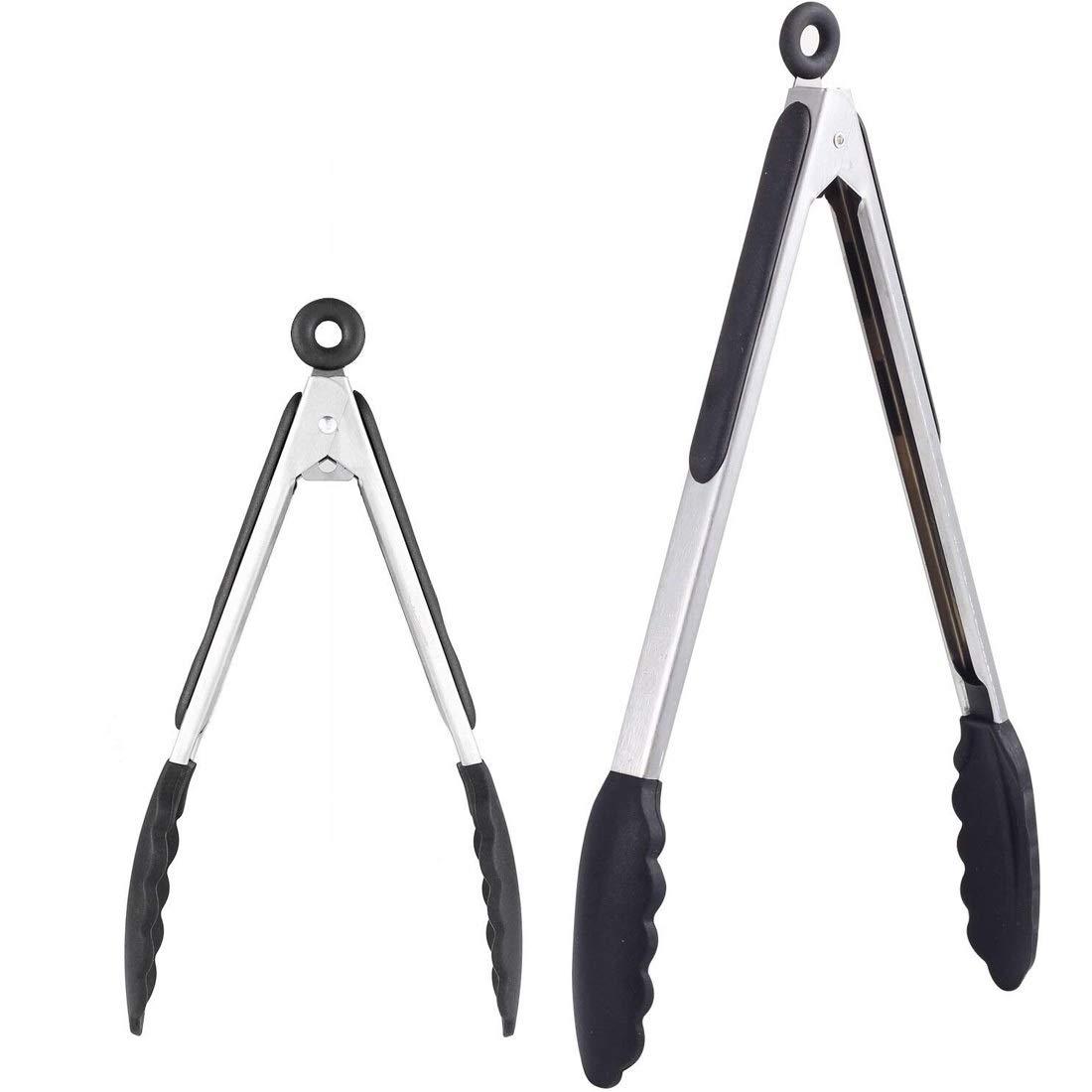Kitchen Food Clip Premium Silicone Pliers - 2 (9