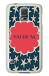 awesome Samsung S5 cover Star Pattern Chevron PC White Custom Samsung Galaxy S5 Case Cover by supermalls