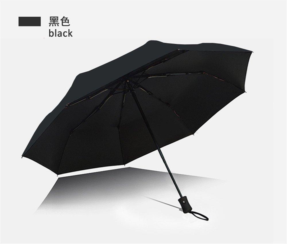Huihong Regenschirm Reisen Sonnenschirm Sonnenschutz UV-Sonnenschirm Falten Edelstahl Regenschirm Frame kompakte tragbare Dach Gr/ö/ße 29 cm nach dem Falzen