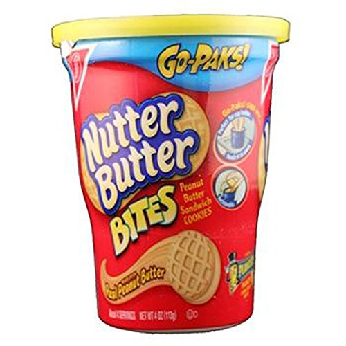 Nabisco Go-Paks Nutter Butter Bites, 1 Count (COOKIE&CRACKER - TUBES/C-PK) ()
