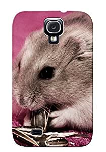 Awesome Design Hamster Eating Sunflower Seeds Hard Case Cover For Galaxy S4(gift For Lovers)