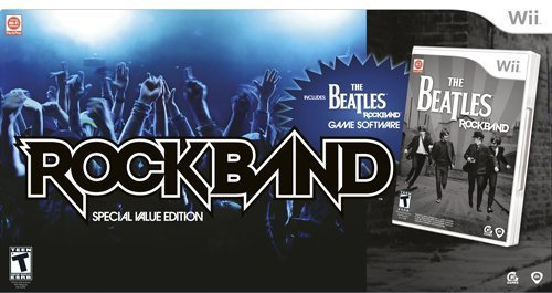 The Beatles: Rockband - Value Edition (Wii): Amazon co uk: PC