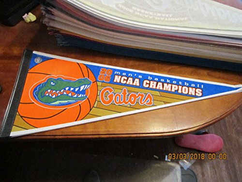 2006 Florida Basketball National champions Pennant NCAA