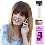 Madelyn by Amore, Wig Galaxy Hair Loss Booklet, 2oz Travel Size Wig Shampoo, Wig Cap, & Wide Tooth Comb (Bundle - 5 Items), Color Chosen: Creamy Toffee R