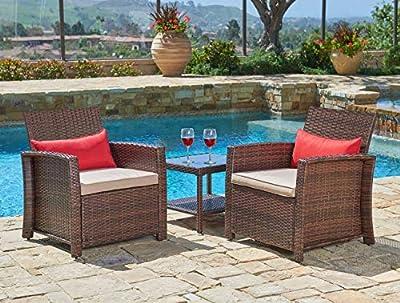Suncrown Outdoor Furniture Patio Set 3