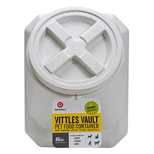 Vittles-Vault-Outback-Stackable-40-lb-Airtight-Pet-Food-Storage-Container