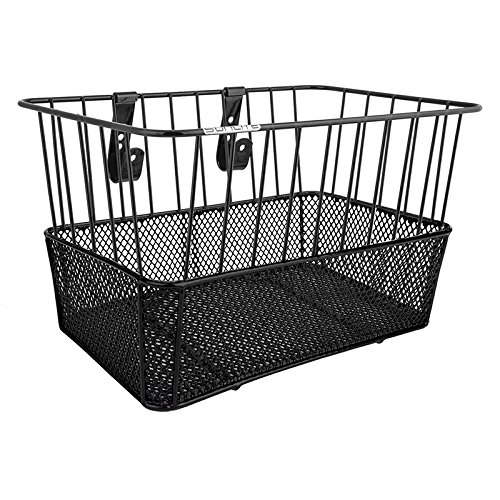 Sunlite Standard Deep Wire/Mesh Basket, Black