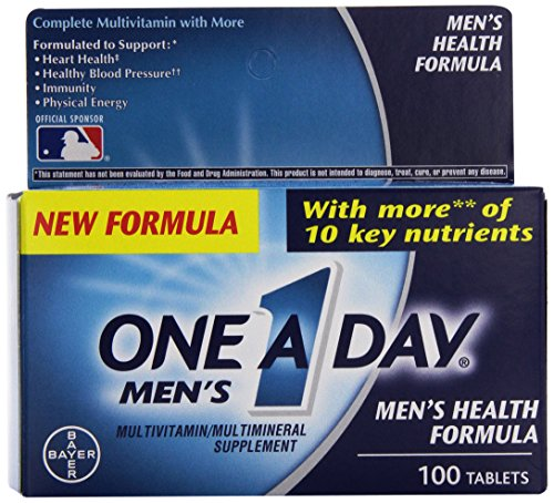 One Mens Health Formula Count product image