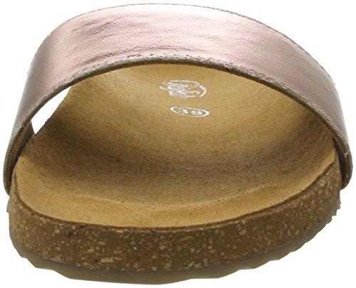 Buffalo Women's 7560 Goat Foil Sandals Multicolor (Rose 23) aZMnZ