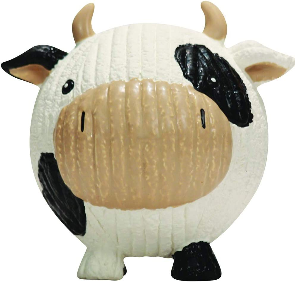 Large HuggleHounds Ruff-Tex All Natural Squeaky Tough Dog Chew Toy Hamlet The Pig