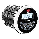 BOSS Audio MGR350B In-Dash, Marine Gauge, Bluetooth, Digital Media MP3/WMA/USB/AM/FM Weather-Proof Marine Stereo