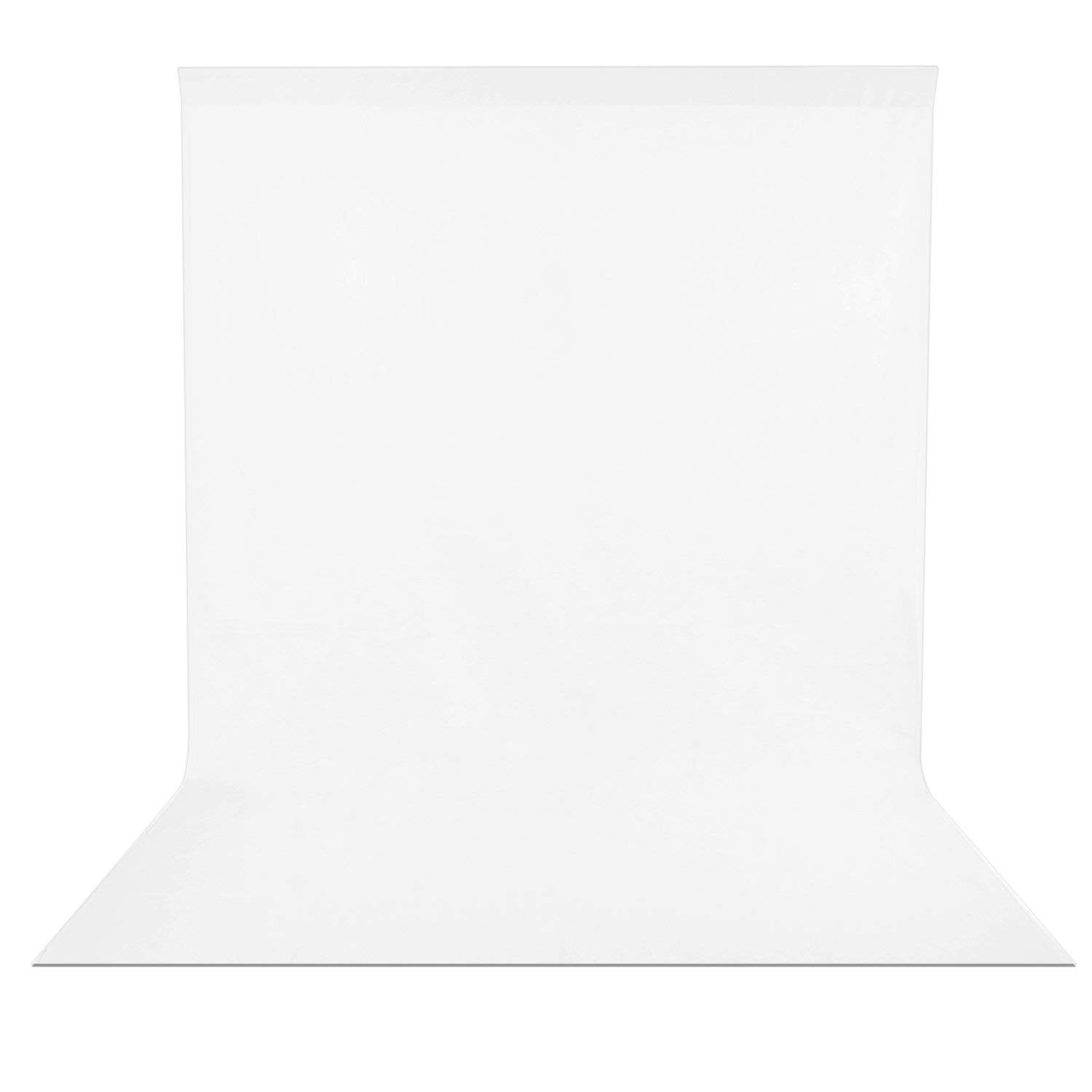 Neewer 10 x 12FT / 3 x 3.6M PRO Photo Studio Fabric Collapsible Backdrop Background for Photography,Video and Televison (Background ONLY) - White by Neewer (Image #4)
