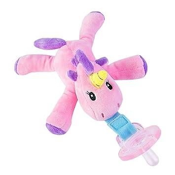 Amazon.com: Chupetes seguros para bebés, con diseño de ...