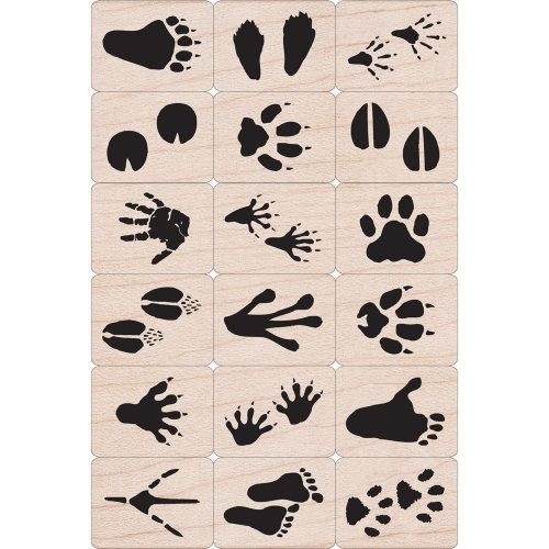 Hero Arts Ink and Stamp Set, Animal Prints
