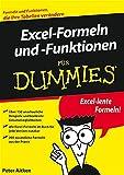 Excel-Formeln und -Funktionen für Dummies