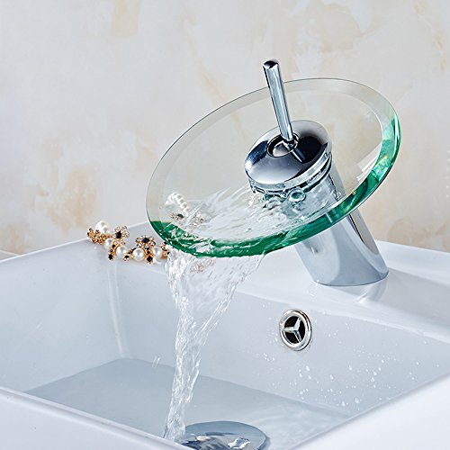 Round Waterfall Faucet - 6