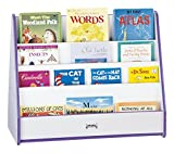 Rainbow Accents 3506JCWW114 Double Sided Pick-A-Book Stand, Orange