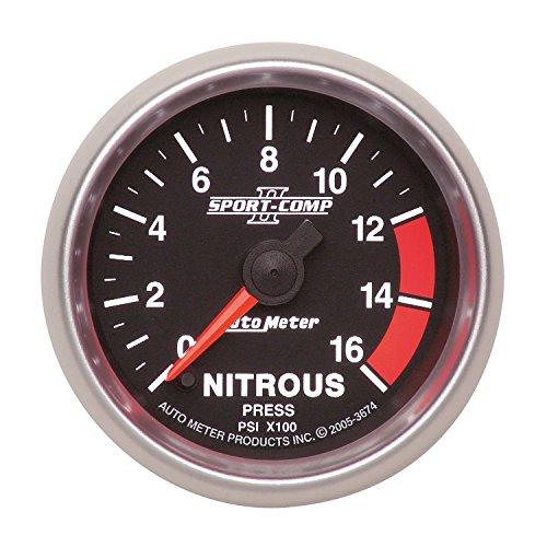 Auto Meter 3674 Sport-Comp II 2-1/16