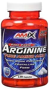 Amix Arginine L-Arginina 120 capsulas
