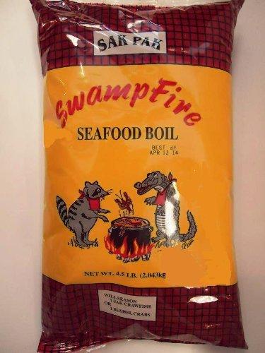 Swamp Fire Seafood Boil 4.5 LBS (Best Crawfish Boil Seasoning Recipe)