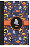 Halloween Night Genuine Leather Passport Cover (Personalized)
