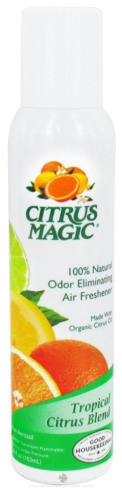Citrus Magic Air Freshener Tropical Citrus Blend -- 3.5 fl oz