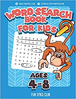 Word Search Books for Kids Ages 4-8: Word Search Puzzles for ...