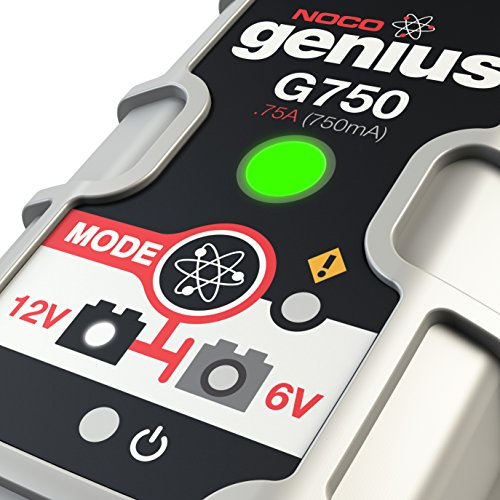 NOCO Genius G750 6V/12V .75A UltraSafe Smart Battery Charger