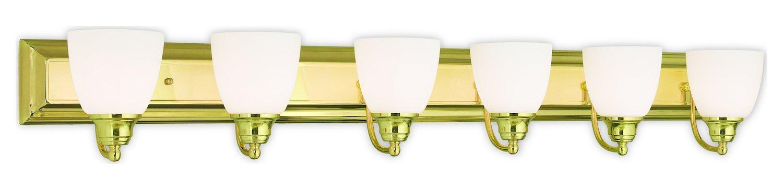 6ライトPolished Brassバスライト B079WQKQH9