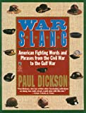 War Slang, Paul Dickson, 0671750240