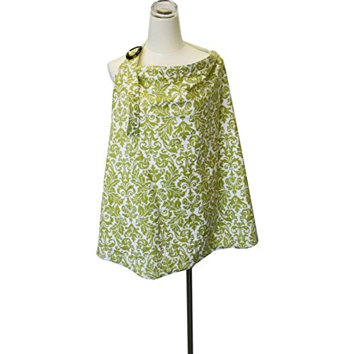 Itzy Ritzy Nursing Cover, Avocado Damask