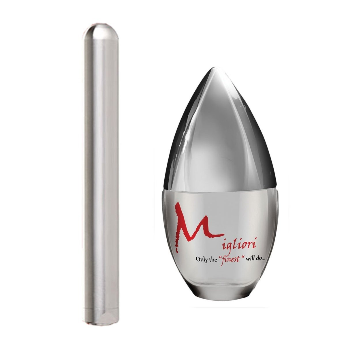 Aneros Muze paired with Migliori high end silicone lubricant (30 ml) by Aneros, Migliori