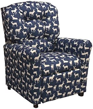 Brazil Furniture Children's Button Back Recliner