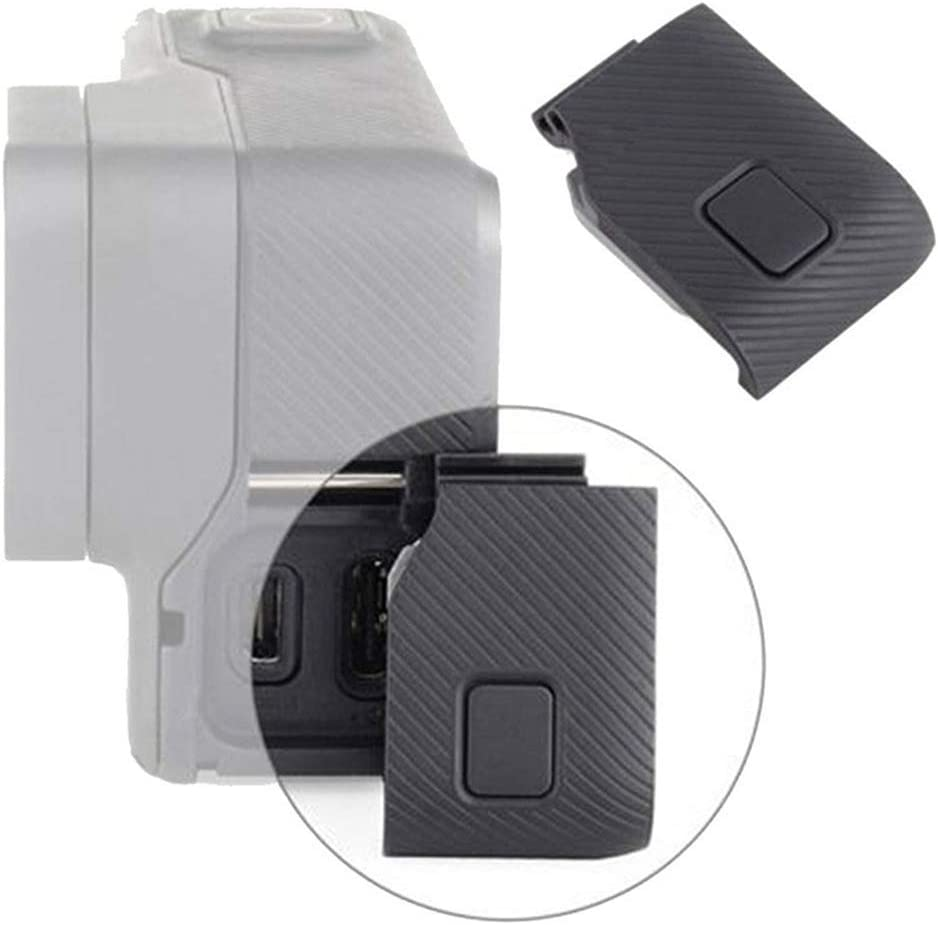 Action Camera Side Door Port Cover Protector Repair Part Side Waterproof Cover Data Cover Replacement Parts