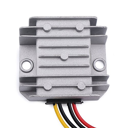 ZIUMIER DC to DC 12V to 24V Boost Converter Voltage Step Up Converter, 3A 72W Car Power Supply Waterproof Voltage Regulator Transformer Module