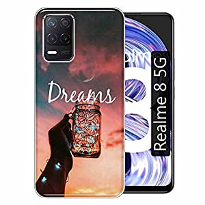 Gismo Designer Printed Soft Silicone Pouch Back Case Mobile Cover for Realme 8 5G / for Boys and Girls – A28