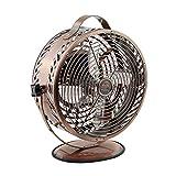 Himalayan Breeze Bronze Fan, Portable Fan, ETL Certified Unique Decorative Lightweight Table Fan By WBM