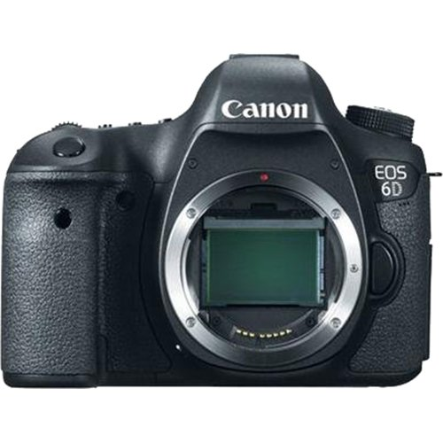Canon EOS 6D 20.2 MP DSLR Camera Body - Top Rated (Certified Refurbished)