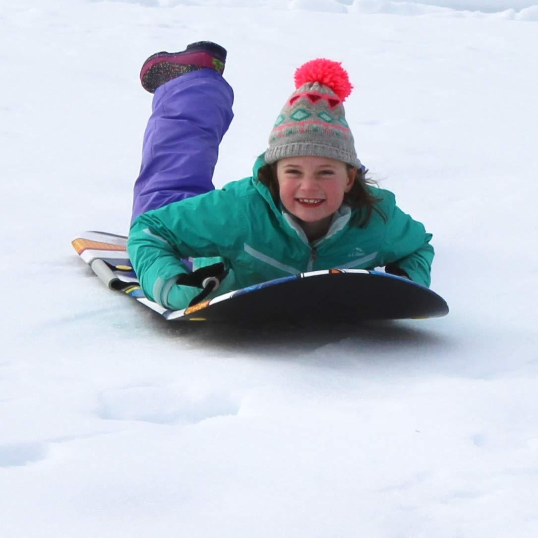 Flexible Flyer Snow Screamer 2-Person Snow Sled. Foam Plastic Double Sno Slider by Flexible Flyer (Image #9)