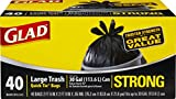 Glad Strong Quick-Tie Large Trash Bags - 30 Gallon - 40 Count - 4 Pack