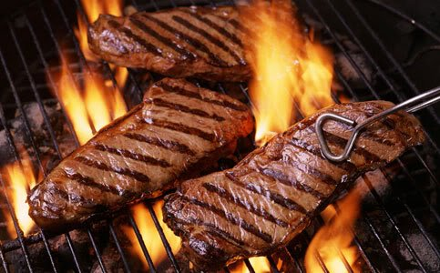 12 Oz New York Strips (Certified Hereford USDA Choice NY Strip - 12 oz - Steak for Delivery)