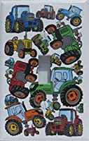 Tractor Light Switch Plates Covers / Single Toggle